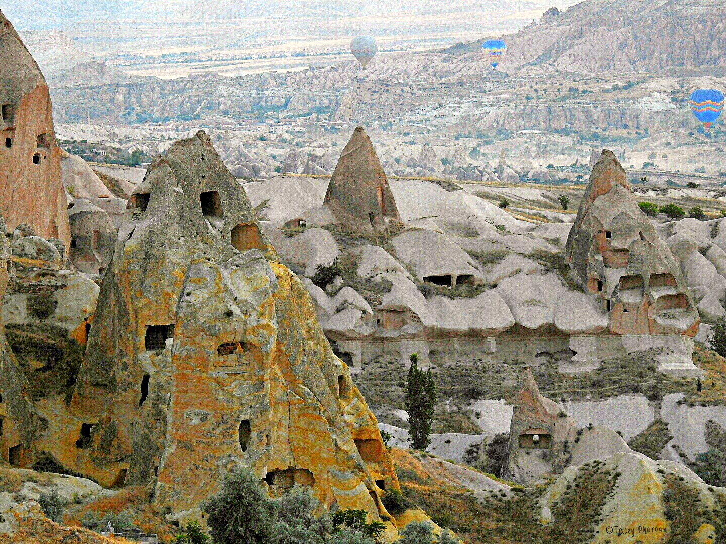 Hot Air Balloons over Goreme, Turkey